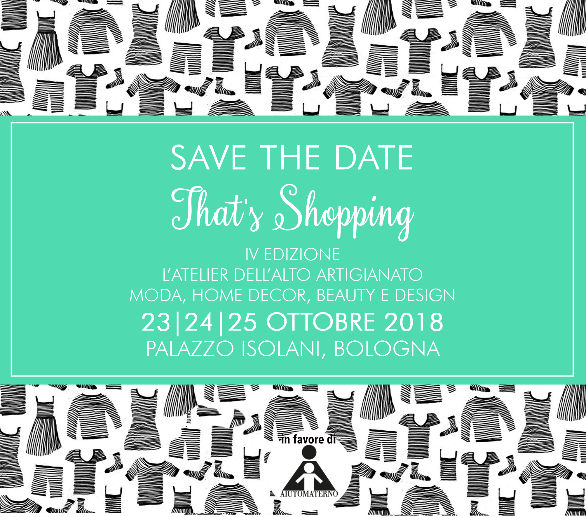 Save the Date That's Shopping 2018